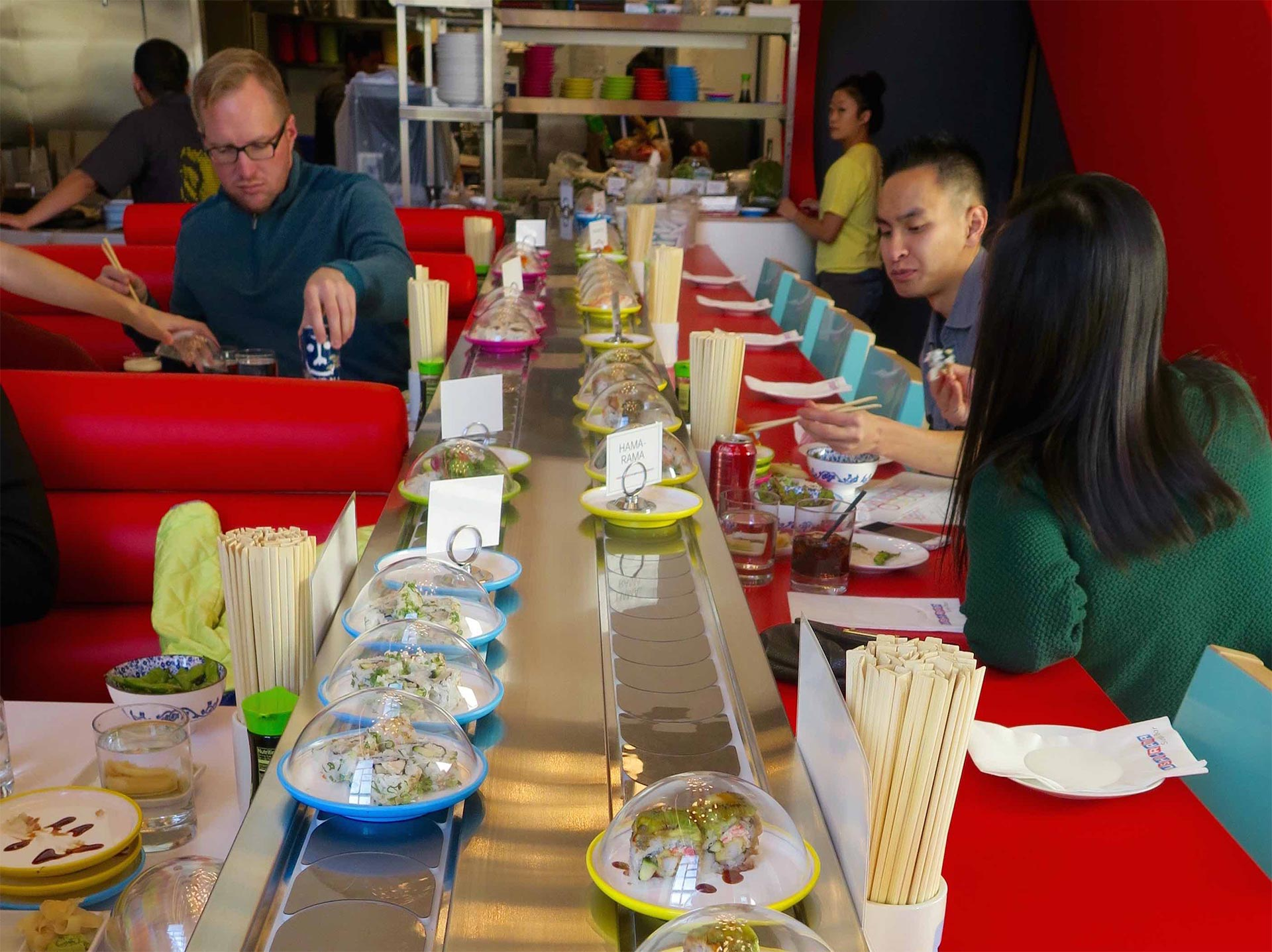 Sushi Rama Conveyor Belt