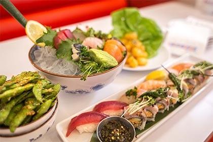 Sushi Rama Denver RiNo