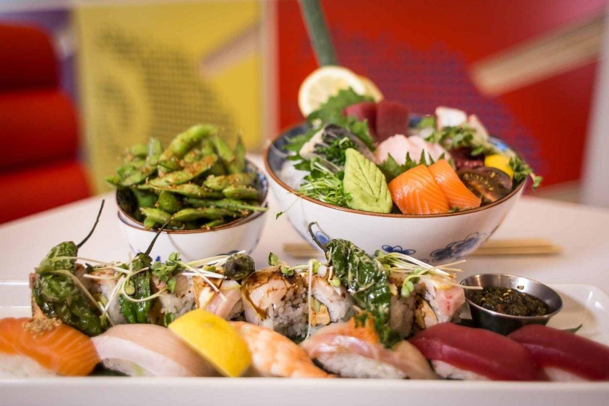 Sushi Rama Summer Menu