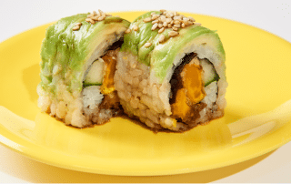 Sushi Rama Promoting Pumpkin-Spice Season